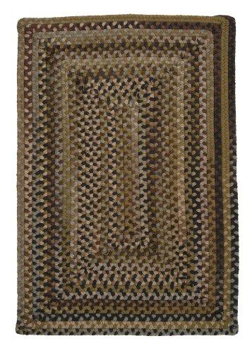 Ridgevale Rug, 3 by 5-Feet, Grecian Green (Ridgevale Green Grecian)