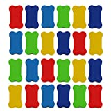 Whiteboard Eraser Small Magnetic Whiteboard Dry Erasers,2 3/4 x 1 9/16 Inches,Random Color by SuoSuo (24Pcs)