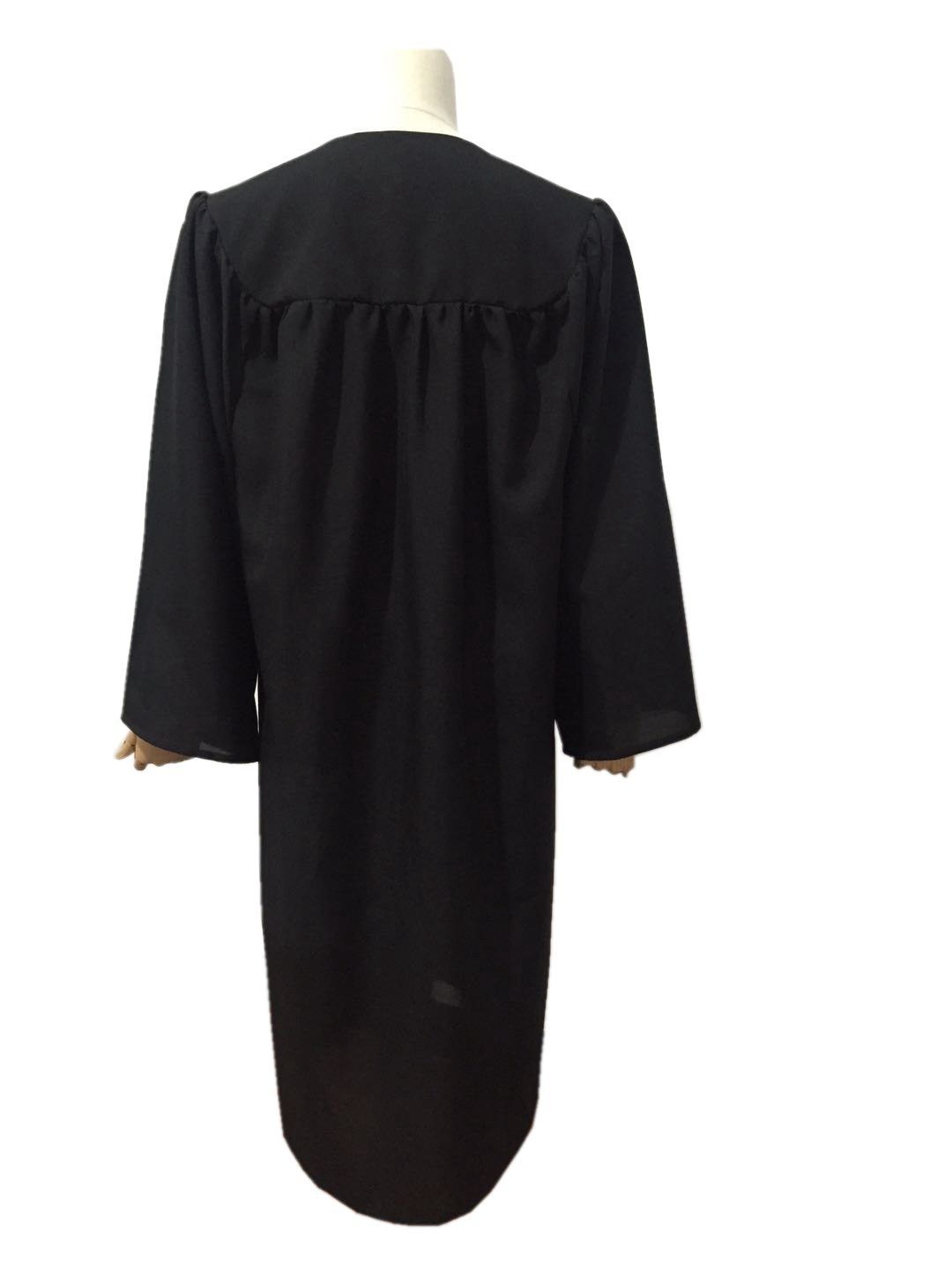 Leishungao Adult Black Choir Robe Matte Finish for Choir Clergy ReligiousWearing Height 5'9''-5'11''FF by Leishungao (Image #5)