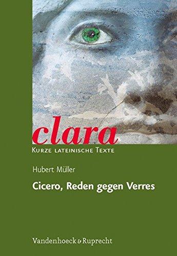 Cicero, Reden gegen Verres (clara, Band 31)