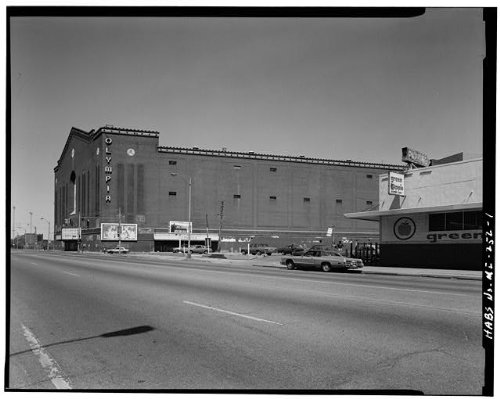 - HistoricalFindings Photo: Olympia Arena,5920 Grand River Avenue,Detroit,Wayne County,MI,Michigan,HABS