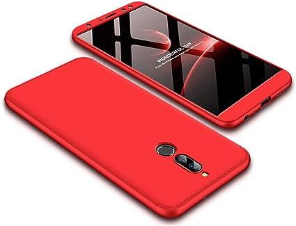 JMGoodstore Cover Huawei Mate 10 Lite,Custodia Huawei Mate 10 Lite, 360 Gradi Premio Ibrido Rugged 3 in 1 Duro AntiGraffio Macchia PC ...