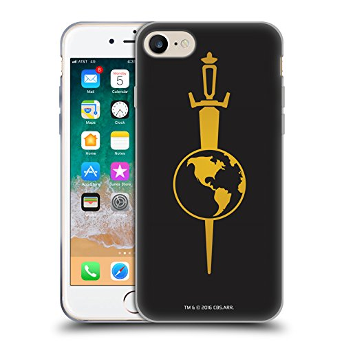 Official Star Trek Mirror Uniforms and Badges TOS Soft Gel Case for iPhone 7 / iPhone 8