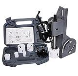 Tube & Pipe Notcher 60 Degree Notch And 6Pc Bi-Metal Hole Saw W/2 Drills Kit