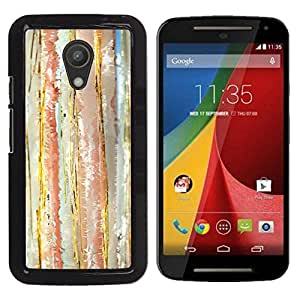 Be Good Phone Accessory // Dura Cáscara cubierta Protectora Caso Carcasa Funda de Protección para Motorola MOTO G 2ND GEN II // Abstract Watercolor Pastel Calm Colors
