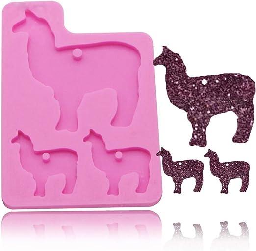 chocolate gumpaste fondant mold resin candy animal silicone mold