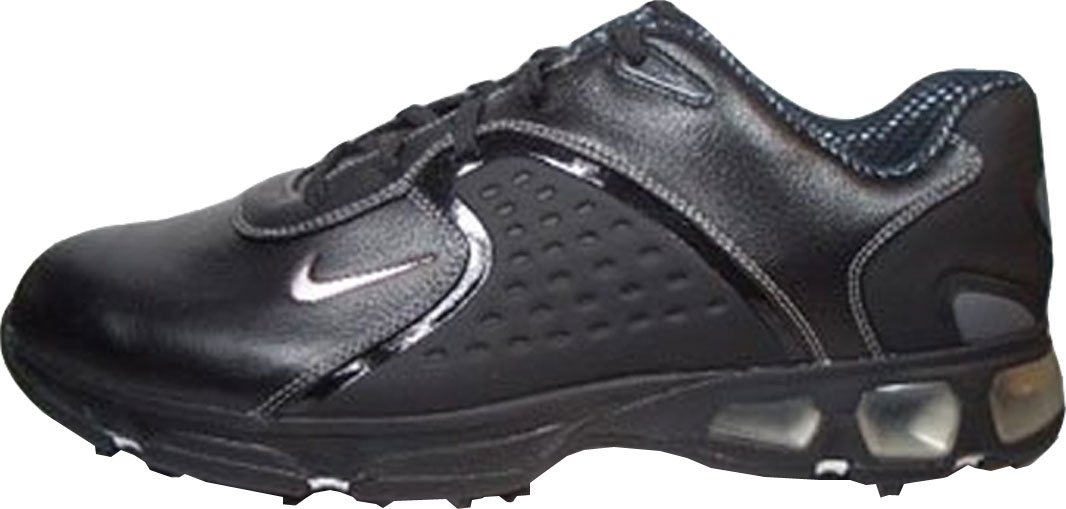 f181ee174d8fa2 NIKE Mens Air Max Rejuvenate. Golf Shoes Full-Grain Leather Poron Heel  Support. Optimum Support and Cushioning Power Platform Control.