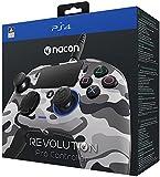 Nacon Revolution Pro Controller - Mando alámbrico, color gris camuflaje (PS4)