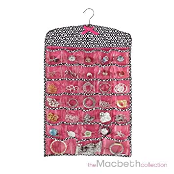 Amazoncom Macbeth collection Jewelry organizer 66 pockets Health