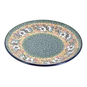 Blue Rose Polish Pottery Jasmine Dinner Plate