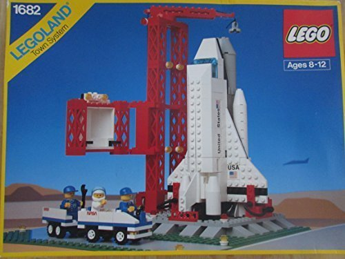 Legoland Town System Space Shuttle 1682