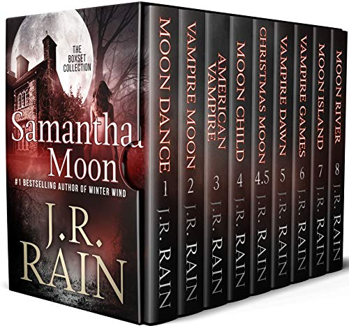 Samantha Moon: First Eight Vampire for Hire Novels, Plus One Novella