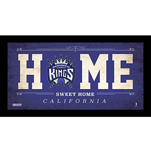 NBA Sacramento Kings Home Sweet Home Sign, 6 x 12