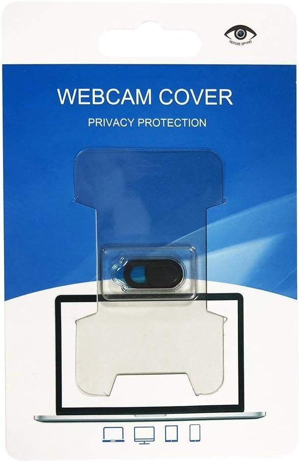 Black 【Majoxin】 3PCS//Set Oval Shape Webcam Cover Shutter Magnet Slider Plastic Camera Cover for Web Laptop for PC Tablet Privacy