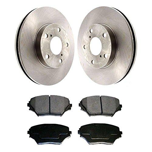 02 Brake Rotors Ceramic Pads - 9