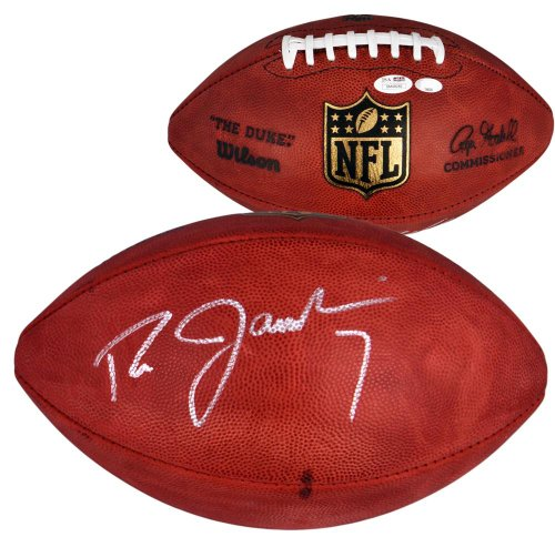 Ron Jaworski Autographed Football - NFL Game Ball - SM - JSA Certified - Autographed Footballs Autographed Nfl Game Football