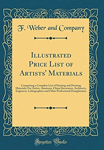 illustrated price list of artists u0027 materials  comprising a complete      rh   amazon com