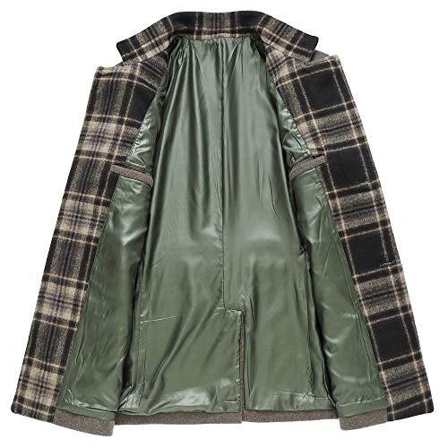 Uomo Uomo Uomo GTYW Coat da Business Casual 3XL Slim Monopetto Giacca da Uomo B Trench M rUwqzWvYr