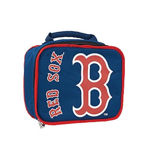 The Northwest Company MLB Boston Red Sox Sacked Lunchbox, 10.5-Inch, Navy by The Northwest Company