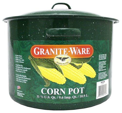 Granite Ware Corn Pot,  13-inch by 11.5-inch ()