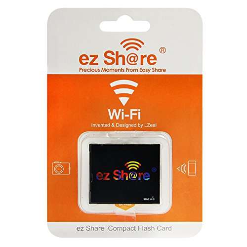 New hot Sold Ez Share WiFi cf Card 32G DLSR Camera Wireless Canon 7D highspeed 5D2 Compact Flash Memory Card WiFi Card (32GB) by EZ SHARE (Image #4)