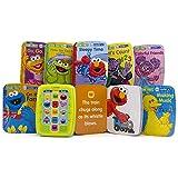 Sesame Street Me Reader Jr Electronic Reader and 8 Book Library - PI Kids