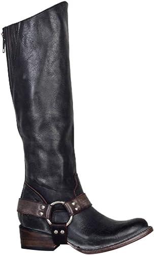 Scarpe da donna stivali da cavallerizzo cerniera , Materiale