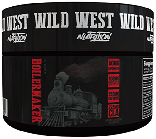 Wild West Nutrition The Boilermaker Fat Burner, 60 Count by Wild West Nutrition
