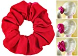 choose Scrunchies Premium Cotton T-Shirt Knit Jersey Ponytail Holders Choose Sizes Many Colors Scrunchie KingMade in USA
