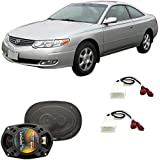 Fits Toyota Camry Solara 1999-2003 Rear Deck Factory Replacement Harmony HA-R69 Speakers