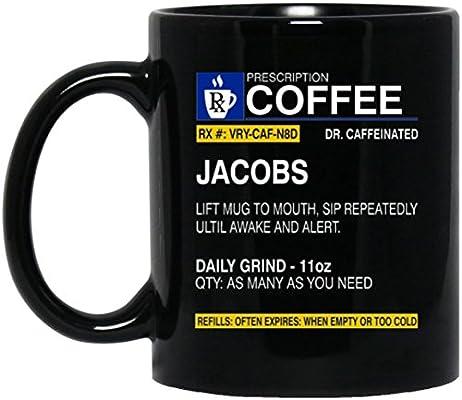 Amazon.com: Personal tazas con nombres – Nombre Es Jacobs ...