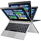 "2017 Lenovo Yoga 710 2-in-1 11.6"" FHD IPS Premium High Performance Touch-Screen Laptop, Intel Pentium Processor, 4GB RAM, 128GB SSD, HDMI, Bluetooth, 802.11ac, Webcam, No DVD, W(US Version, Imported)"