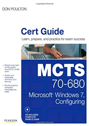 mcts 70 680 cert guide microsoft windows 7 configuring rh amazon com General Chemistry Lab Manual Lab Accident
