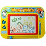 Gooder Mechanical Drawing & Writing Board Magnetic Drawing Board Preschool Learning Case Creative Toy for kids