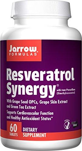 Jarrow Formulas Resveratrol Synergy, 60 Tablets ()