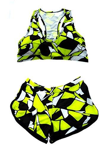 amp; Adatto Bikini Top bagno Pantaloncino a Donna Adulti da Ragazza Mare Costume e Due Pezzi MODELLO5 Moda qz4S4w