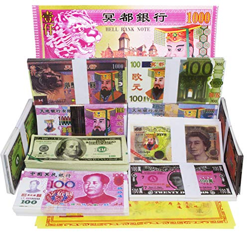400 Pcs Ancestor Money for Tomb-Sweeping Day Joss Paper For Funeral, Strengthen Connection with Your Ancestors, Bring The Good Luck Wealth and Health