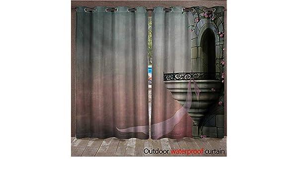 BlountDecor - Cortina con Ojales góticos, Medieval, para ...