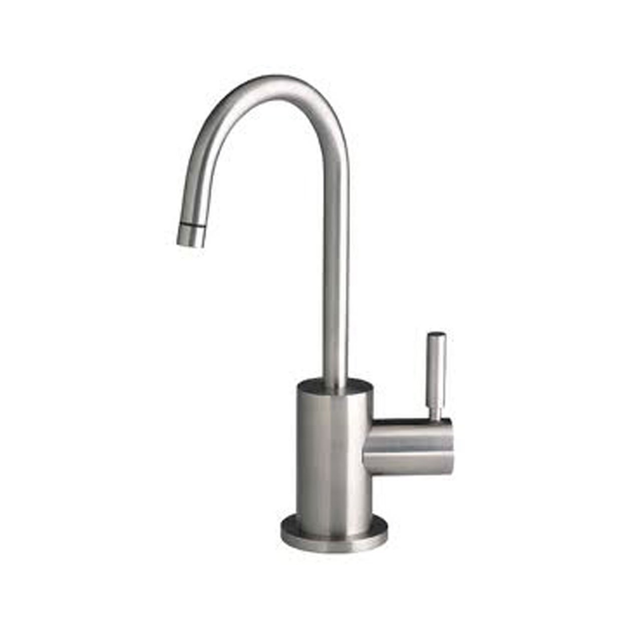 Waterstone 1400H-SN Parche Filtration Faucet Hot Only Single Handle, Satin Nickel