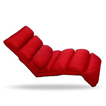 Longues Chaises Sofa Zr Pliable Paresseux Lavable Individuel vNm08wn