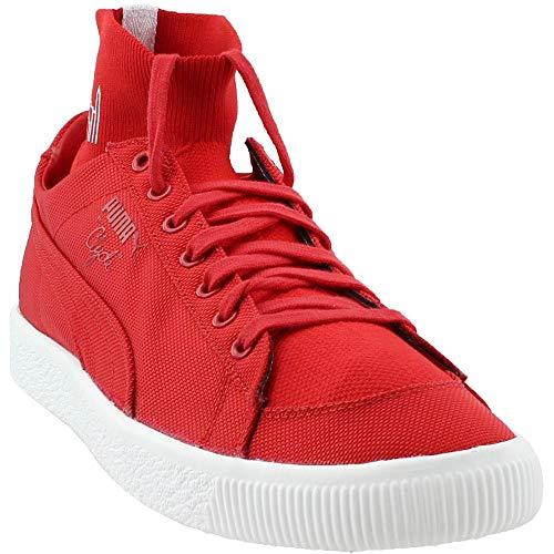 - PUMA Men's Clyde Sock Manhattan Portage High Risk Red/High Risk Red 8.5 D US