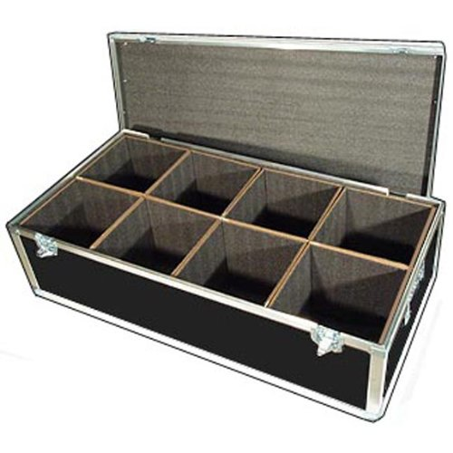 Lighting LED PAR Lights ATA Case with 8 Compartments - ID Per Compartment 10 x 10 x 12 High by Roadie Products, Inc.