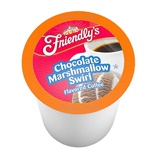 Friendly's Coffee Pods for Keurig K-Cup Brewers, Chocolate Marshmallow Swirl, 40 ()