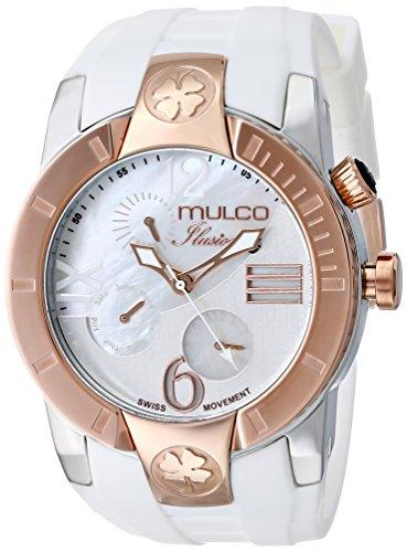 MULCO-Unisex-MW5-1877-013-ILUSION-CRESCENT-Analog-Display-Swiss-Quartz-White-Watch