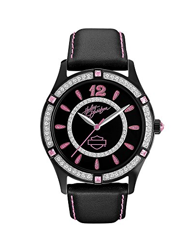 Harley-Davidson Women's Pink Label Collection Watch. 78L113