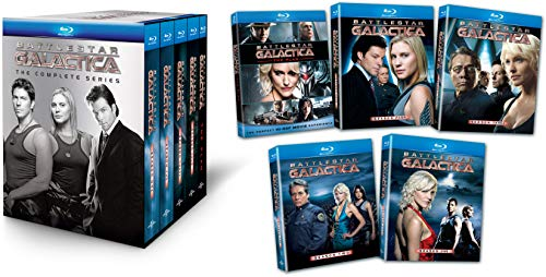 Battlestar Galactica: The Complete Series [Blu-ray] (Best Guns In Apocalypse Rising)