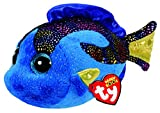 ty fish - Ty Beanie Boos - AQUA the Fish (Glitter Eyes) (Regular Size - 6 in)