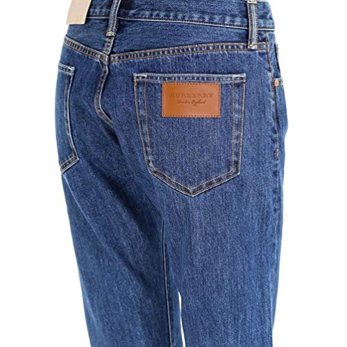 Burberry Jeans Cotone Blu Donna 8008247 7ORXSRFrq