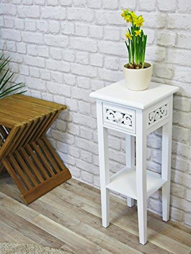 Romantic-Telefontisch-Beistelltisch-Anrichte-wei-Landhausstil-mit-Shabby-Chic-Look