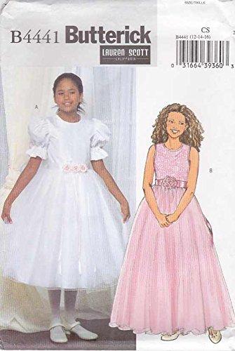 jr bridesmaid dress sewing patterns - 1
